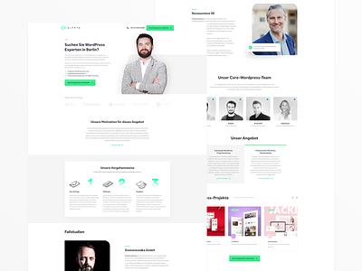 Alphta - WordPress Experten in Berlin wireframes webdesign angularjs html5 development berlin wordpress