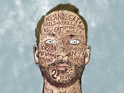 Line Drawing Face Tattoo : Face tattoo drawing detailed by jordan roland dribbble