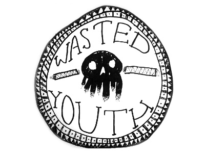 Wasted Youth Seal