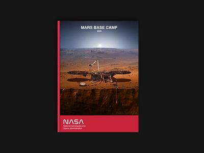 NASA - Base Camp 2030 editorial design typography book magazine design print design print nasa