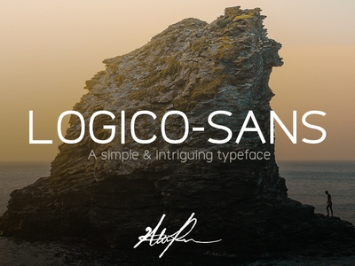 Logico-Sans Typeface