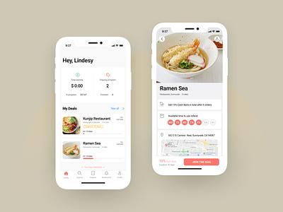 Local deal/coupon restaurant app restaurant deal cashback socialmedia smbs local small business local coupon membership mobile app mobile