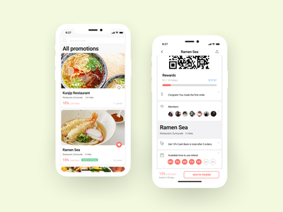 Active the deal screen membership restaurant app restaurant food app food uiux mobile app mobile ui mobile smbs local small business social media coupon deal