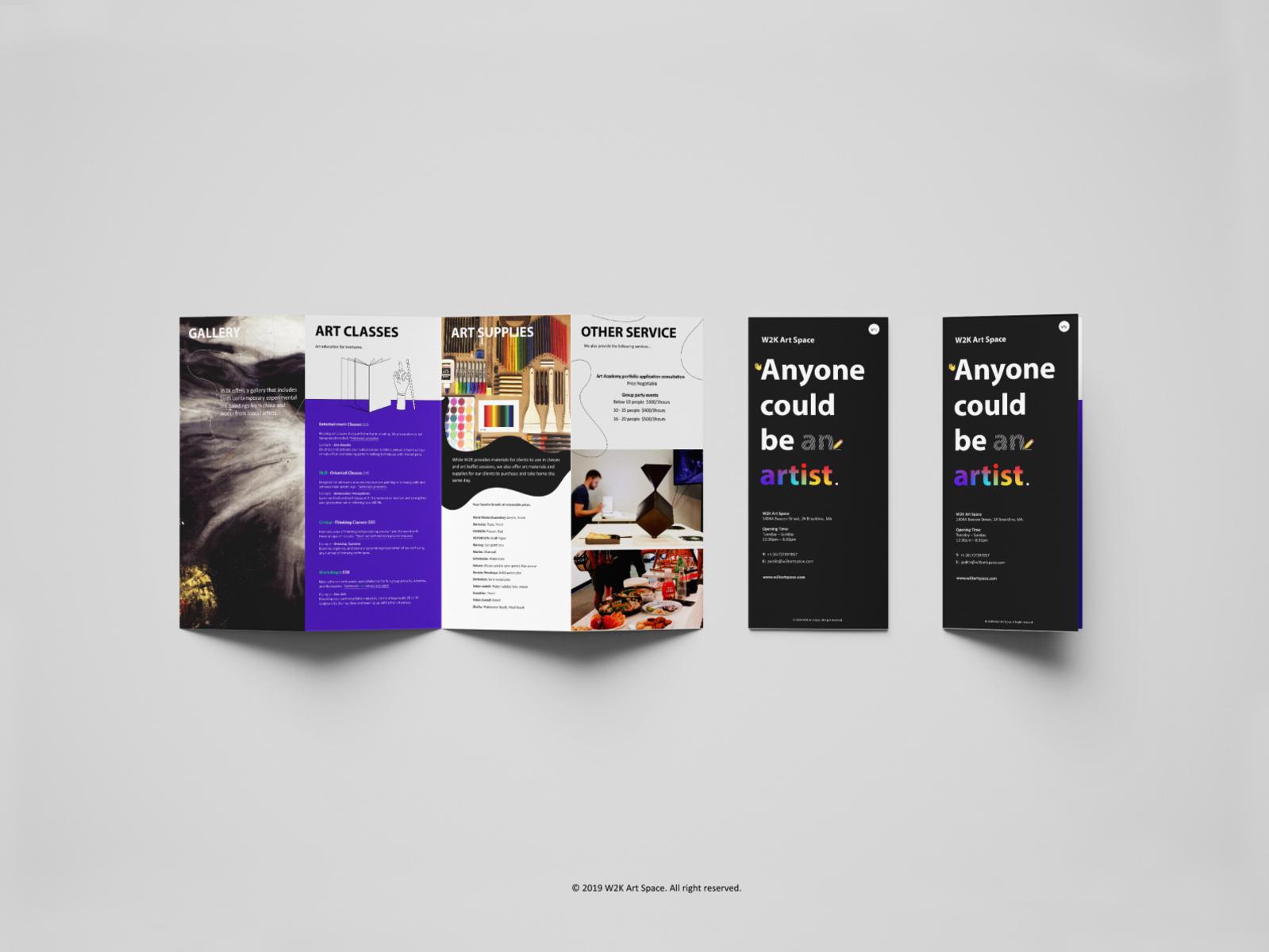w2k art space handbook by Lingxi on Dribbble