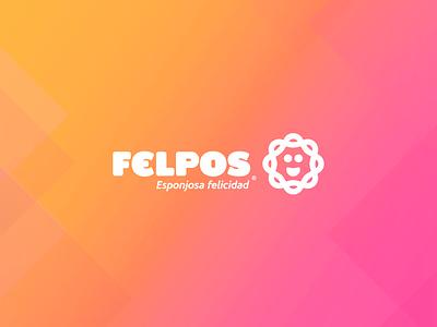 Felpos - Branding and Identity colorful udi polanco gradient branding bucaramanga cute logo identity