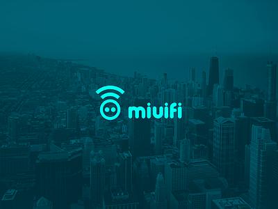 Miuifi logo somos voodoo bucaramanga wifi design web brand logo miuifi