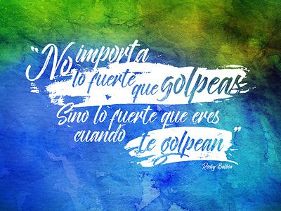 Gran verdad! rocky bucaramanga frases