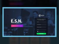 Landing ESN Platform