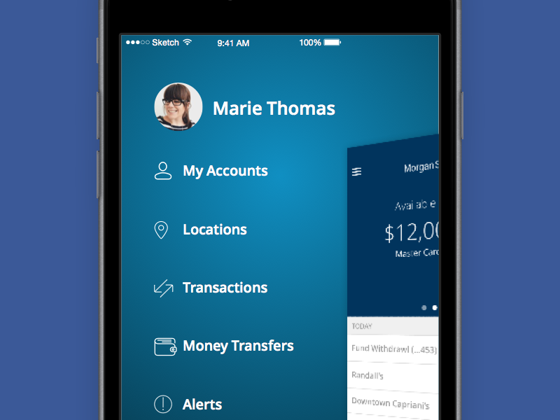 Morgan Stanley Bank App by Aquila and Priscilla on Dribbble