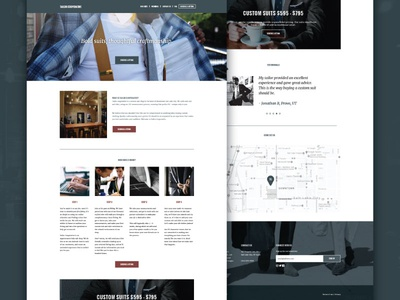 Tailor Cooperative Website