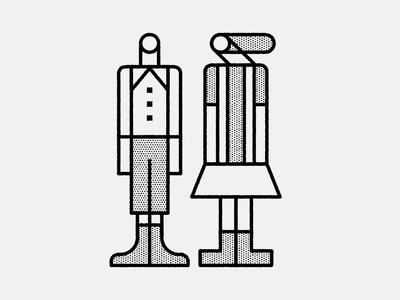 folk people illustration
