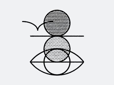 Folk Eye eye seagull sunset vector bird folk illustration icons icon
