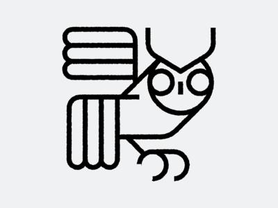 Owl owl icon owl illustration owl bird folk design icons illustration icon