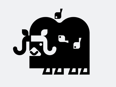 Musk Ox birds buffalo musk ox icons illustration icon