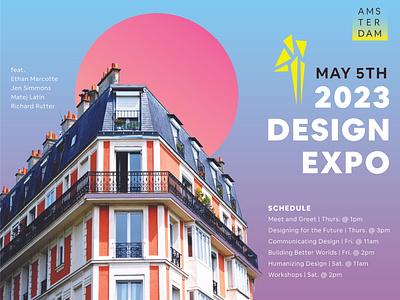 Design Expo 2023 logo branding design typography