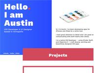 Austin Garcia Portfolio Site