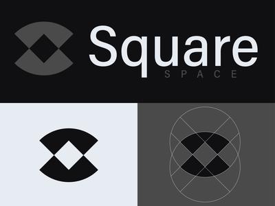 Square Space Logo Re-design Concept