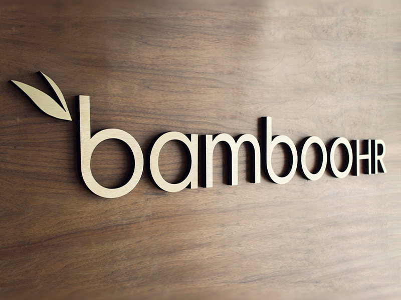 Bamboo Branding Wall Piece - not flat not flat focus lab branding logo logo design logotype lettering leaves wood icon identity tinkering monkey present client presents wood letters