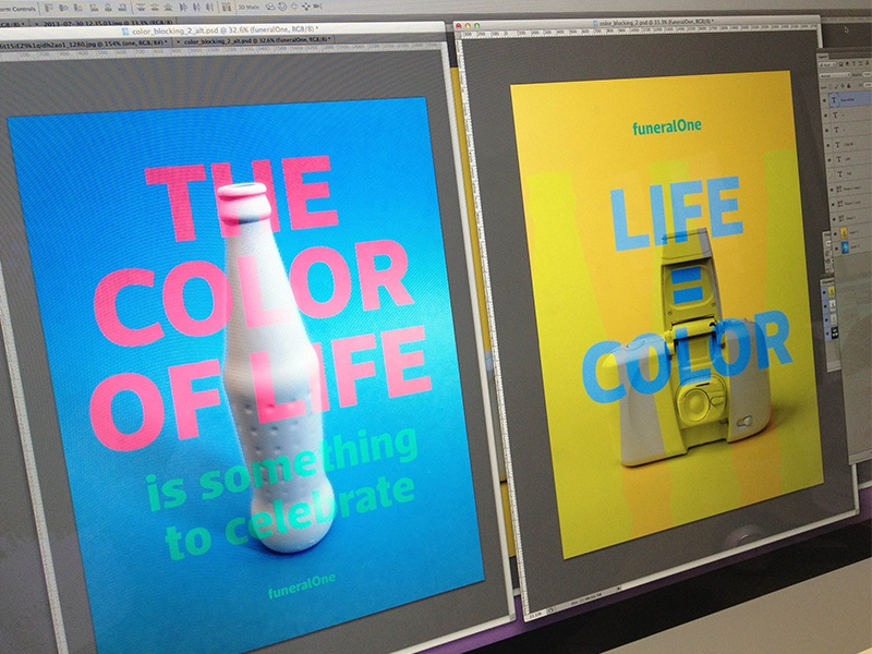 Branding Bomb branding focus lab funeralone color clean fresh bold powerful emotive loud
