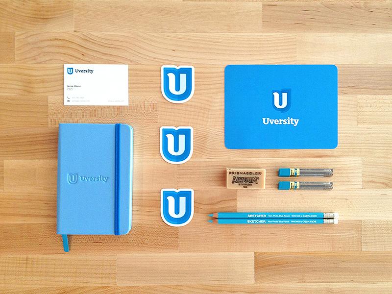 Branding Gifts branding focus lab u uversity logo logo design education stickers