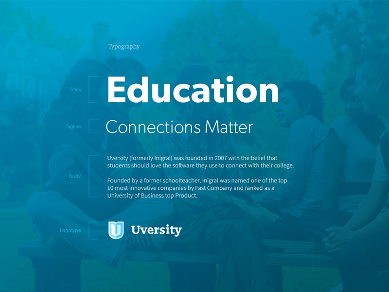 Simple Type Chart branding focus lab u uversity logo logo design education stickers brand typograpy