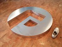 Huge Aluminium Logo