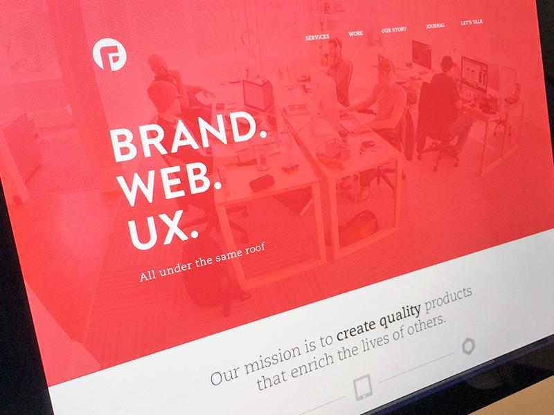 Focus Web branding focus lab web design