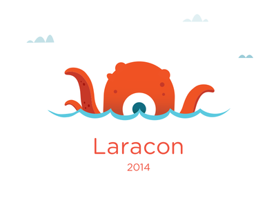 Laracon focus lab laracon learning conference fun php developers monsters branding logo logo design laravel