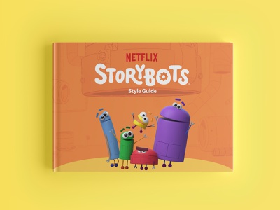 Netflix + Storybots Brand Guide brand guide guidelines brand guidelines visual identity brand identity brand identity design netflix storybots guide storybots brand guide identity brand guideline brand design identity logo branding focus lab