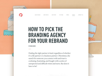 How to pick the right brand agency blog brand process brand agency branding focus lab