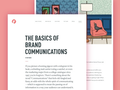 The Basics of Brand Communications brand guidelines verbal guidelines communication agency messaging framework messaging brand positioning brand archetype brand agency verbal identity creation agency verbal identity brand story storytelling brand communication reading blog branding focus lab