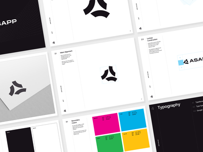 ASAPP Rebrand artificial intelligence ai asapp brand strategy branding concept brand and identity visual identity brand agency brand design brand identity clean simple ui interface logotype identity logo design logo branding focus lab