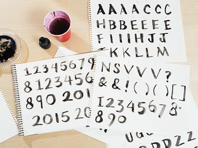 Ink Letterforms