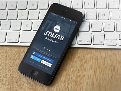 JibJab Messages branding focus lab jibjab ios app design funny gifs messaging
