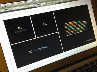 Assembly Black Ops branding focus lab identity assembly diversity come together symbols morse code