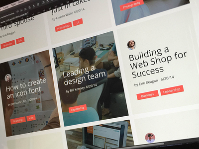 New Thing Coming... focus lab learning community web design made by sidecar
