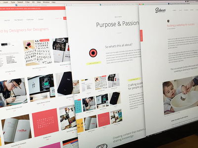 Sidecar is in the works focus lab learning community web design made by sidecar assets branding