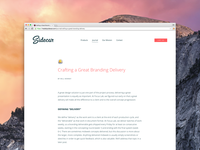 Crafting a Great Branding Delivery