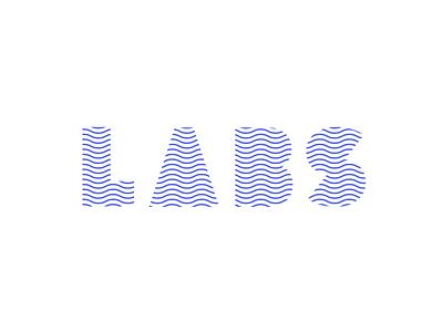 LABS flexible logotype logo design shapes waves labs identity focus lab branding