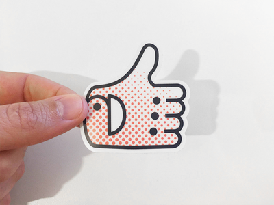 Glove up! designers growth glove up scroller thumbs up sticker community learning assets sidecar