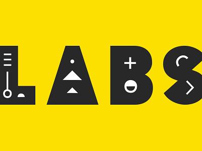 LABS Identity shapes logotype build labs logo design identity focus lab branding