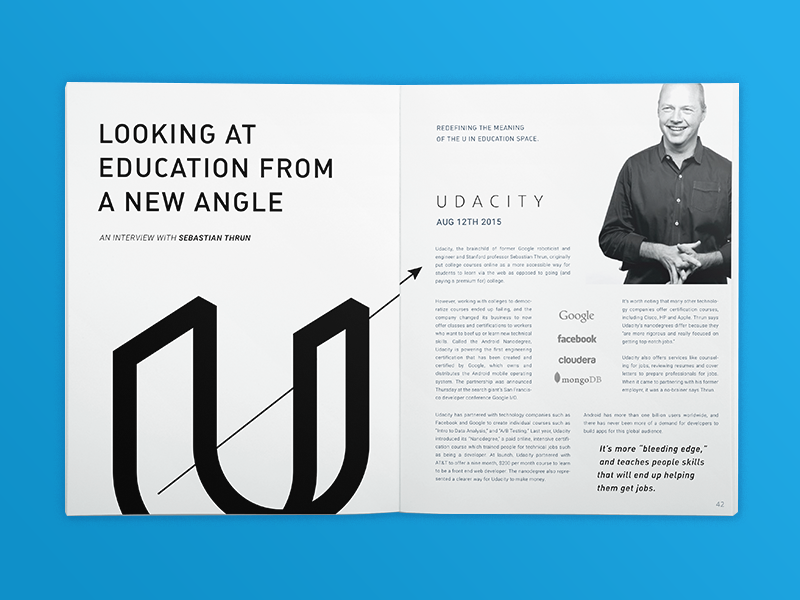 Udacity Exploration by Bill S Kenney for Focus Lab on Dribbble