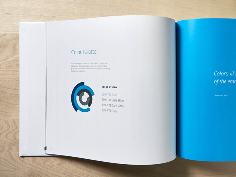 Style Guide Print book layout brand rules identity design brand guidelines style guide print identity branding