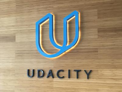 Udacity is looking goooooood ✨ education students brand design focus lab udacity logo design identity design branding