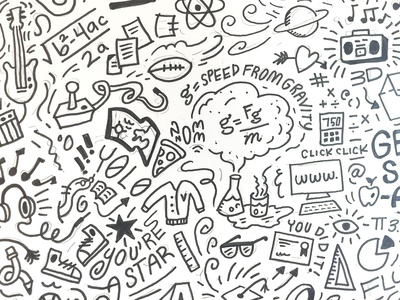 Doodle Round 2 focus lab sketching doodle pattern doodle art doodle sketch doodles branding