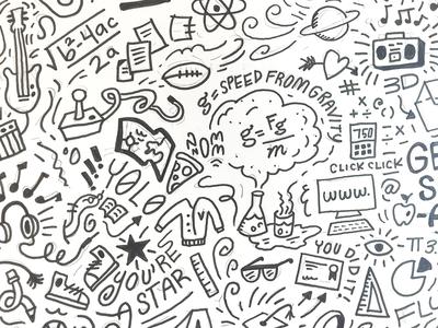 Doodle Round 2 focus lab sketching doodle pattern doodle art doodle sketch doodles branding