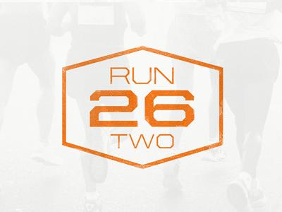 Run26two badge