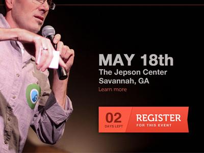 Tedx2 tedx creativecoast savannah conference minimal