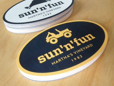 Sun n fun stickers