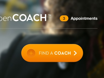 OpenCoach Call To Action opencoach navigation web design interface ui button call to action simple clean branding ui design